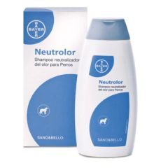 Champú Neutrolor perros Bayer Sano & Bello (250 ml)