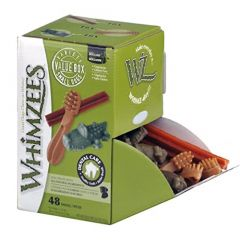 Whimzees Caja Surtido Small 48un OUTLET (Cad: 30/12/21)
