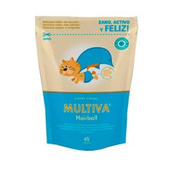 Snack anti bolas de pelo Multiva Hairball para gatos