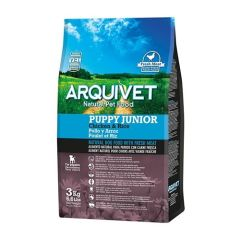 Arquivet Puppy Junior Chicken & Rice (Pollo y Arroz)