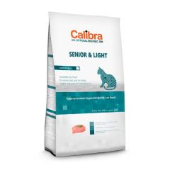 Calibra Cat Senior & Light Pavo & Arroz