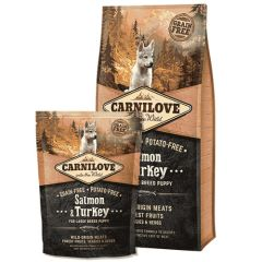 Carnilove Puppy Large Salmon & Turkey (Salmón y Pavo)