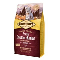 Carnilove Feline Fresh Chicken & Rabbit (Pollo y Conejo)
