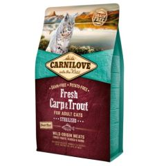 Carnilove Feline Sterilised Fresh Carp & Trout (Carpa y Trucha)