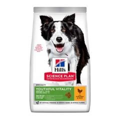 Hill's Science Plan Canine Youthful Vitality Medium Pollo