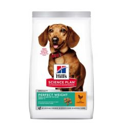 Hill's Science Plan Canine Perfect Weight Small & Mini Pollo