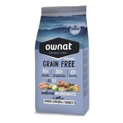 Ownat Grain Free Prime Senior Chicken