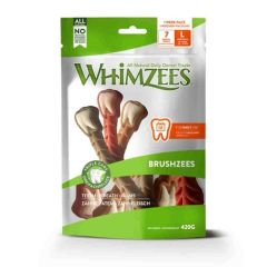 Whimzees snack dental Brushzees
